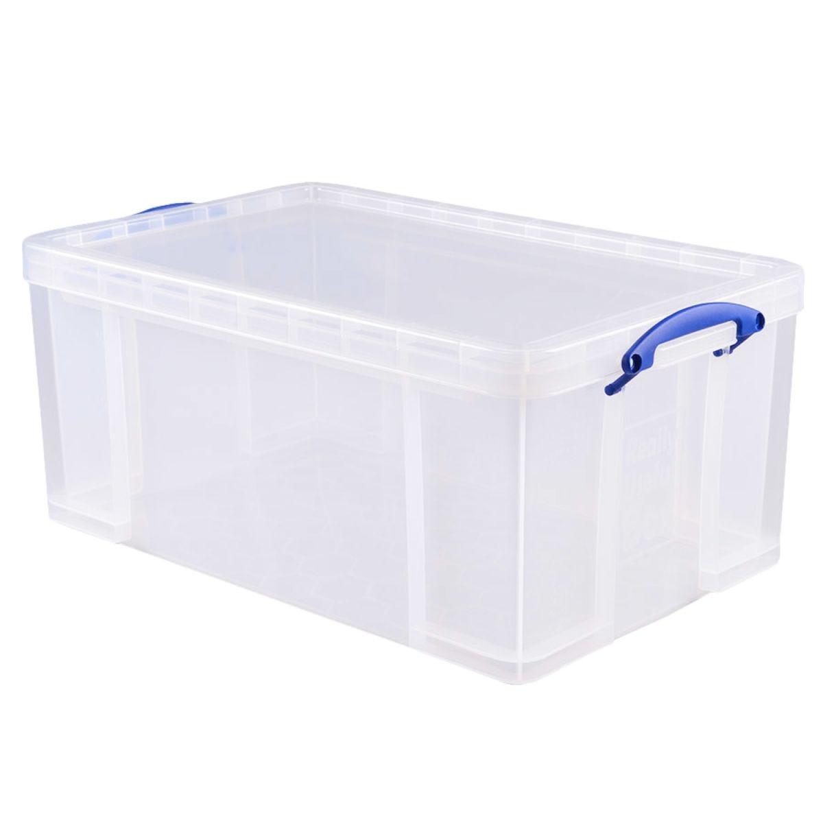 Really Useful 64L Storage Box - Clear