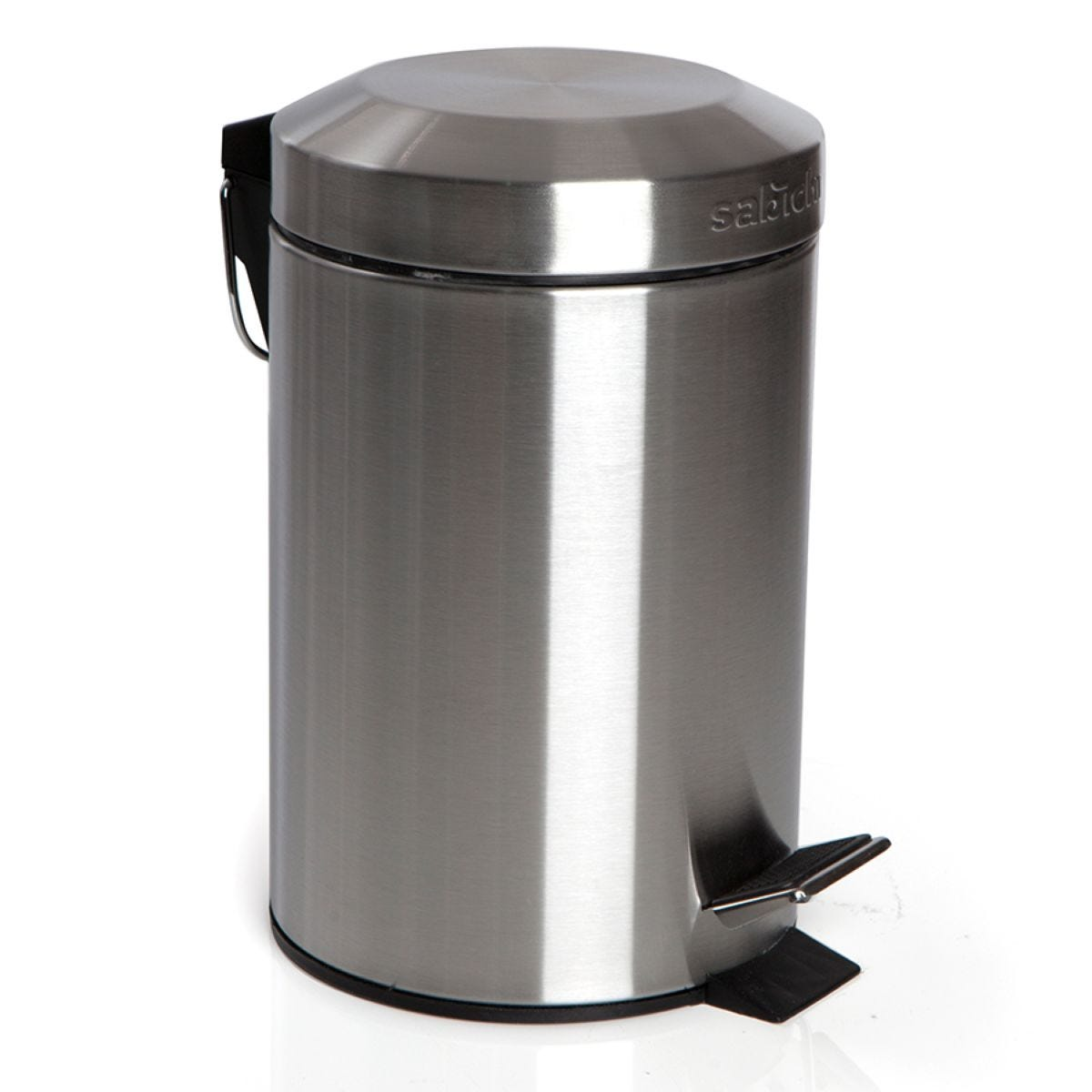 Sabichi 3L Stainless Steel Small Pedal Bin – Silver
