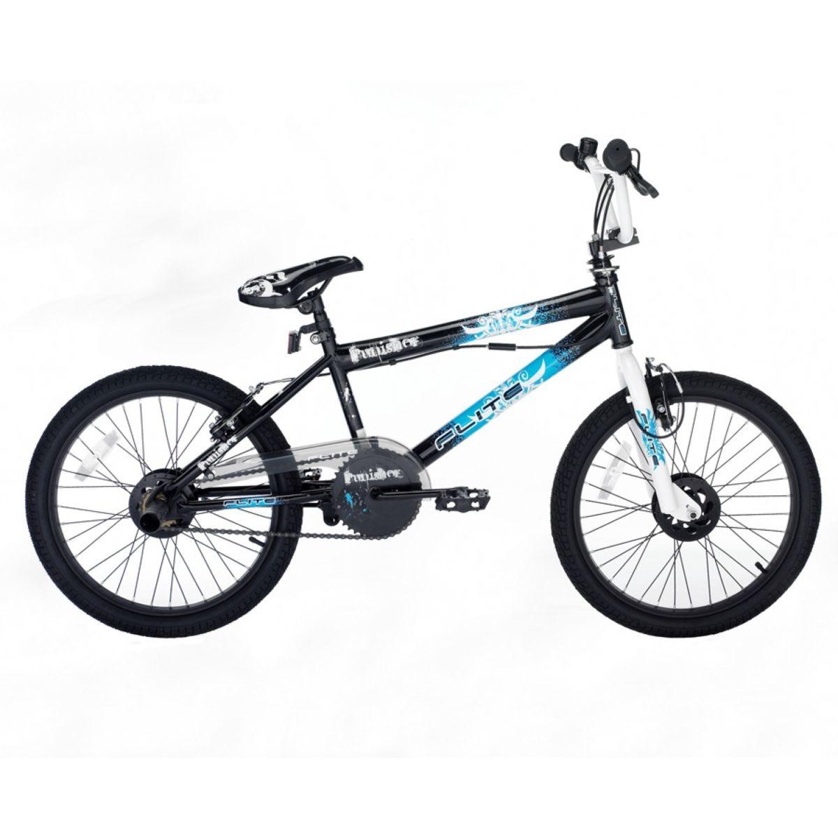 Flite Punisher Freestyle BMX Bike - Black and White