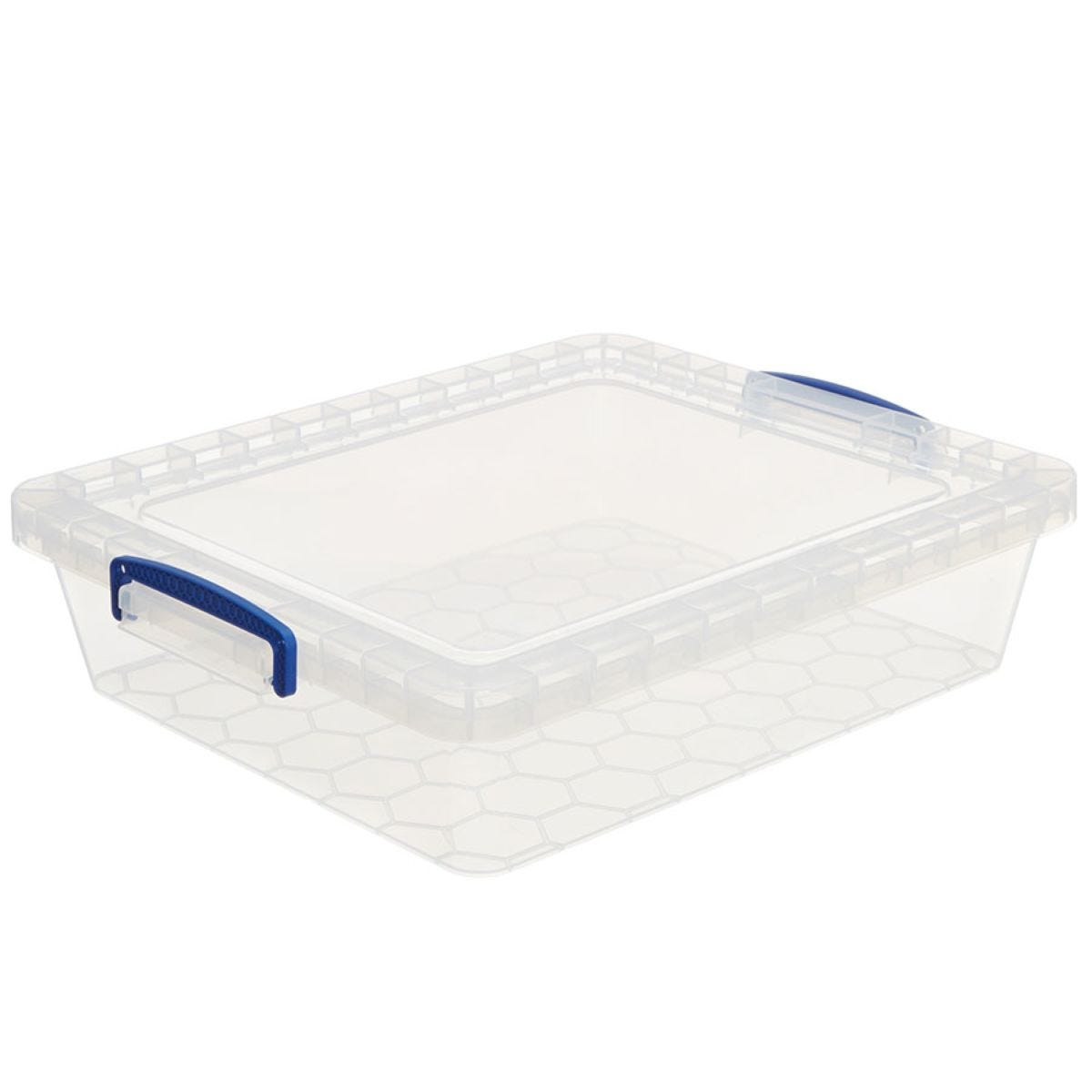 Really Useful 10.5L Nestable Storage Box - Clear