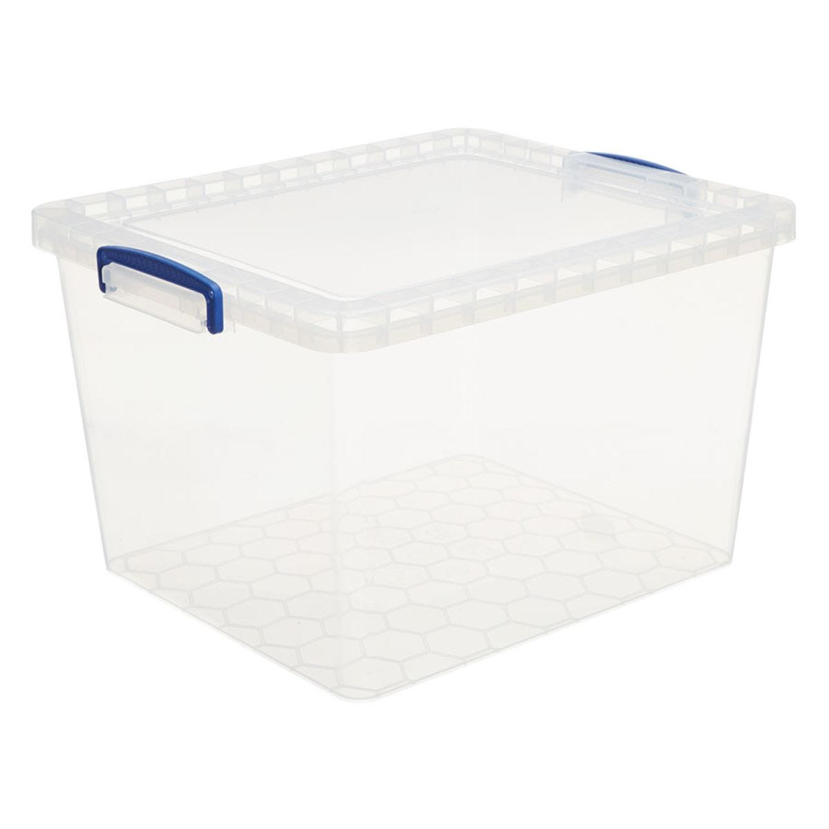 Really Useful 33.5L Nestable Storage Box - Clear