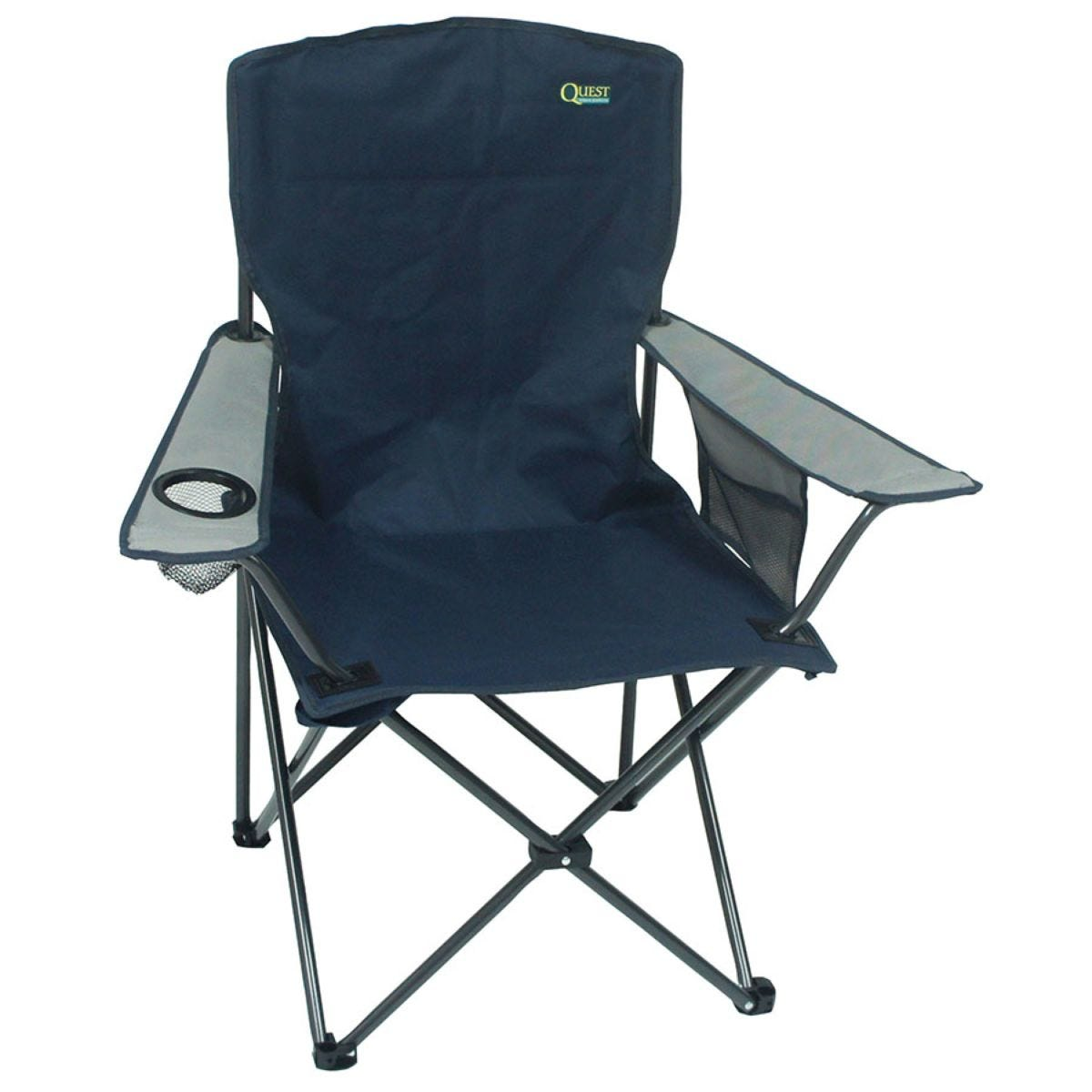 Quest Traveller Morecambe Compact Chair - Blue