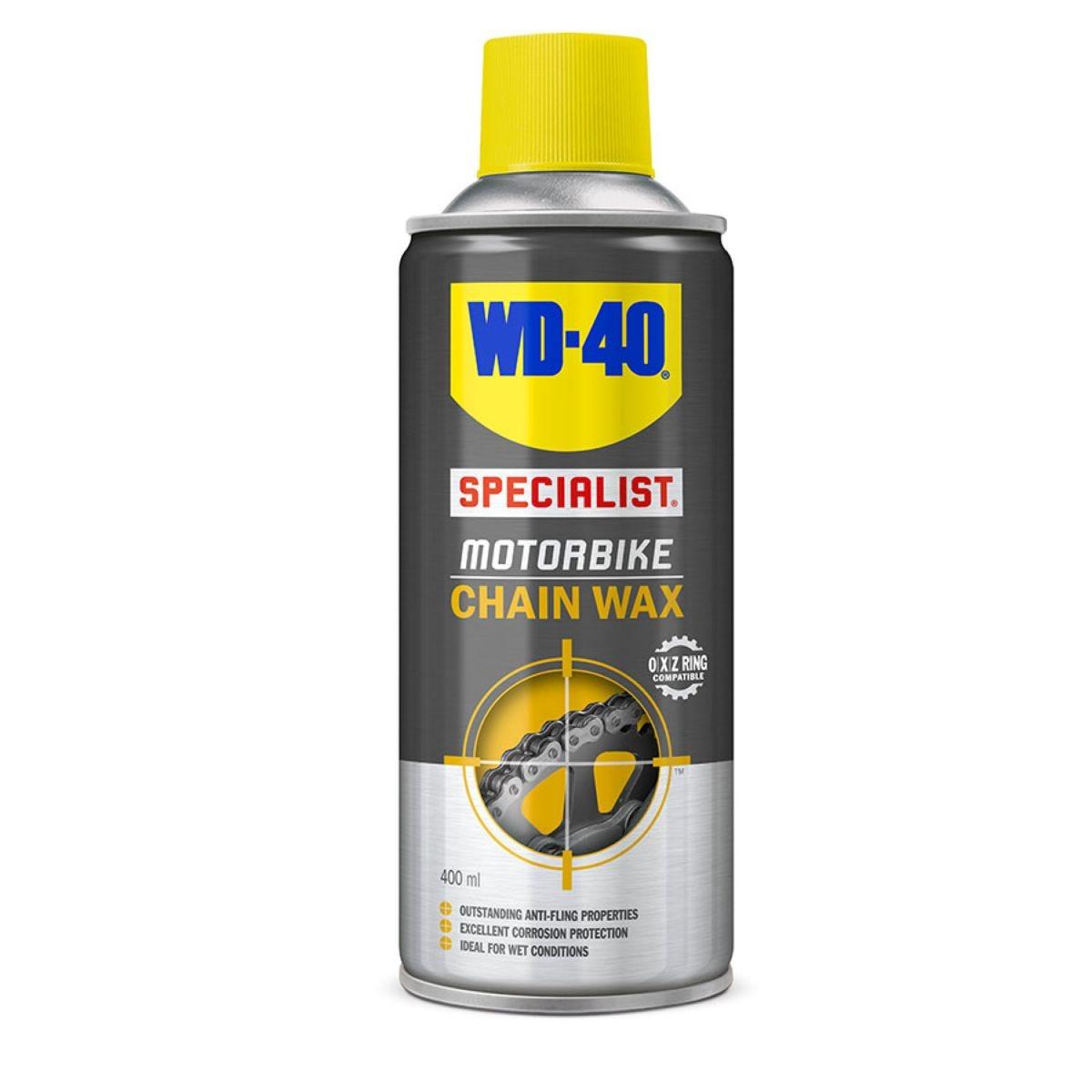 WD-40 Specialist Motorbike Chain Wax – 400ml