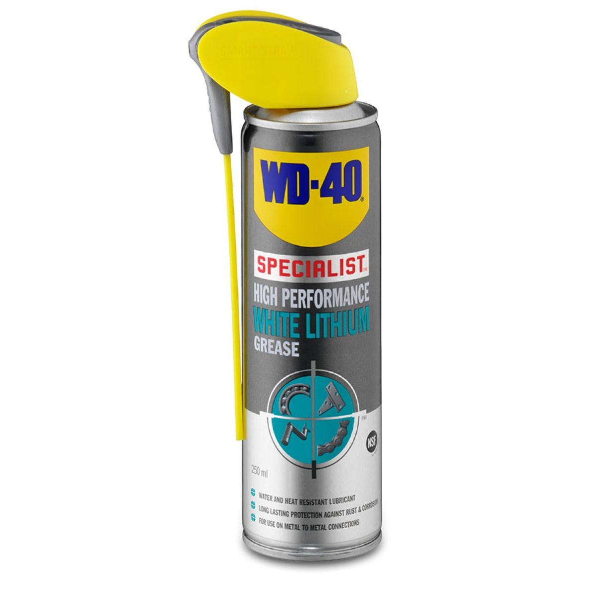 WD-40 Specialist White Lithium Grease – 250ml