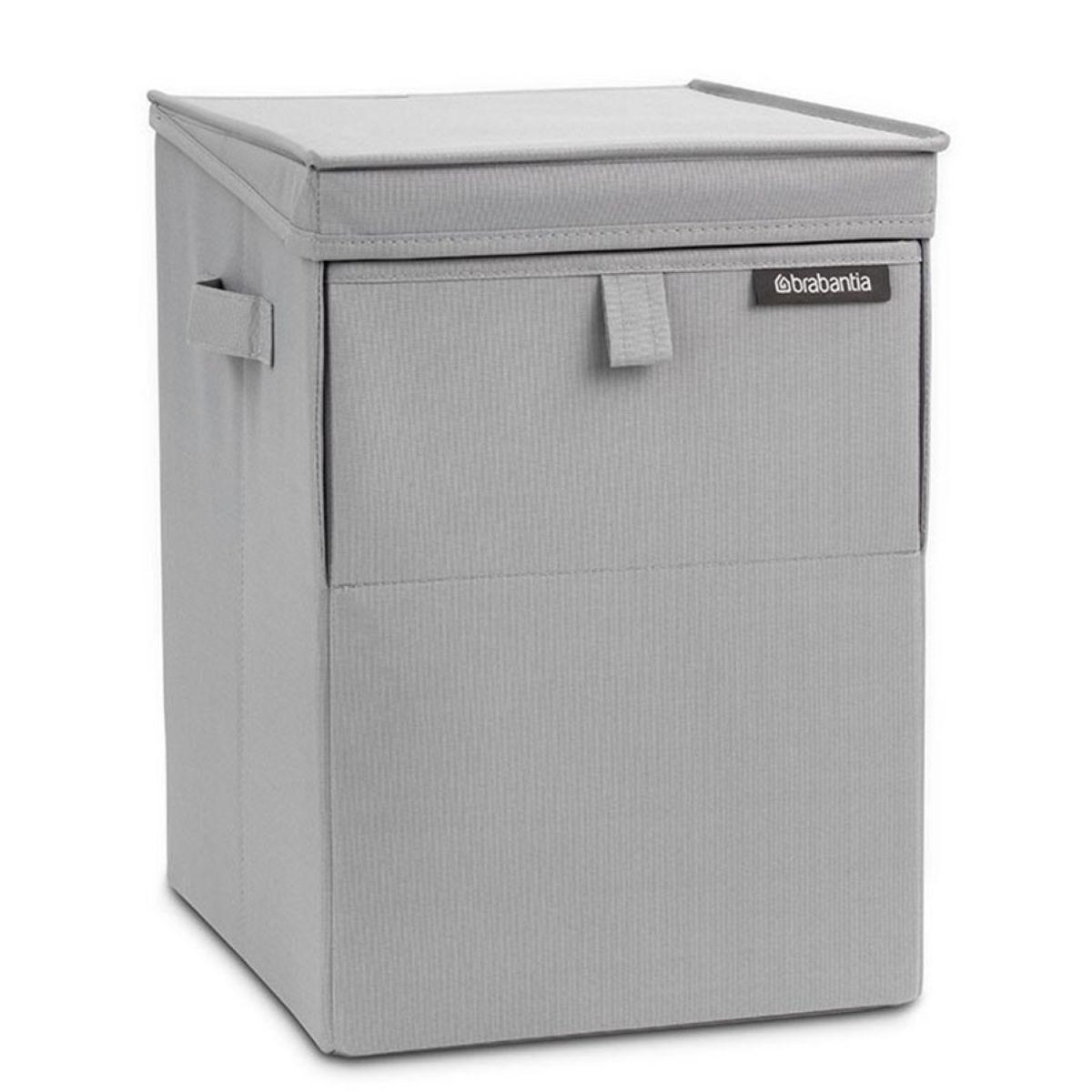 Brabantia 35L Stackable Laundry Box - Grey