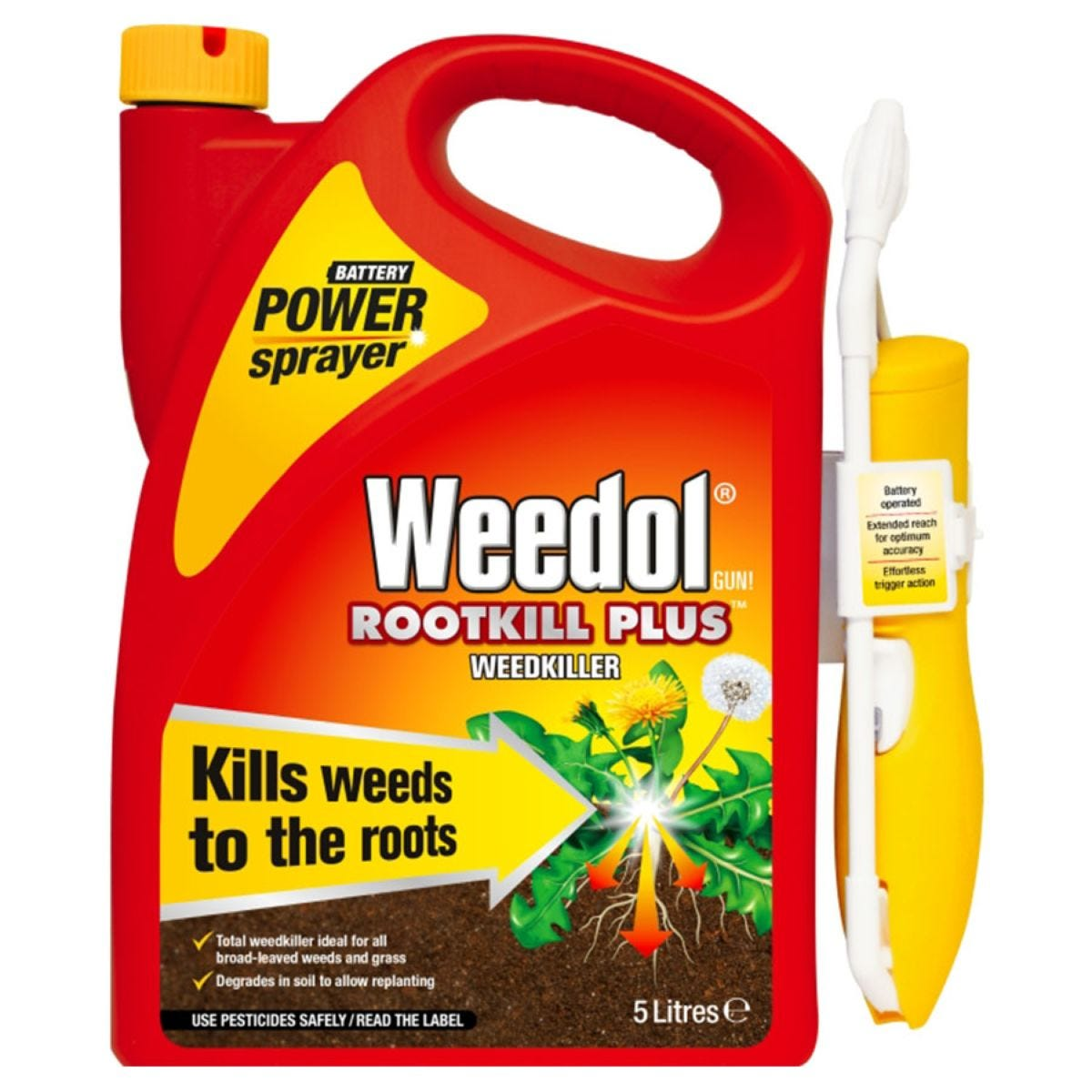 Weedol Rootkill Plus Power Spray – 5 Litres