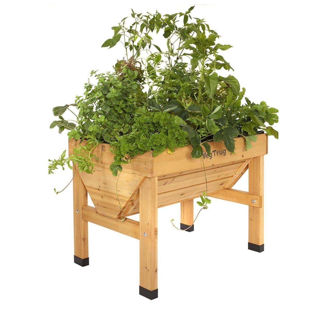 VegTrug Small Classic Raised Planter – Natural