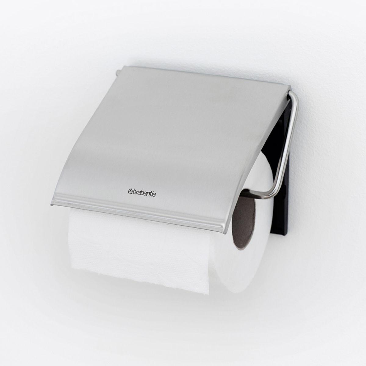 Brabantia Toilet Roll Holder - Matt Steel