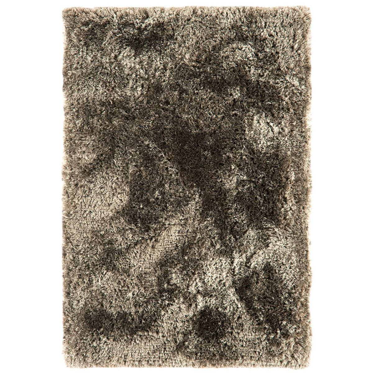 Asiatic Plush Shaggy Rug, 120 x 170cm - Taupe