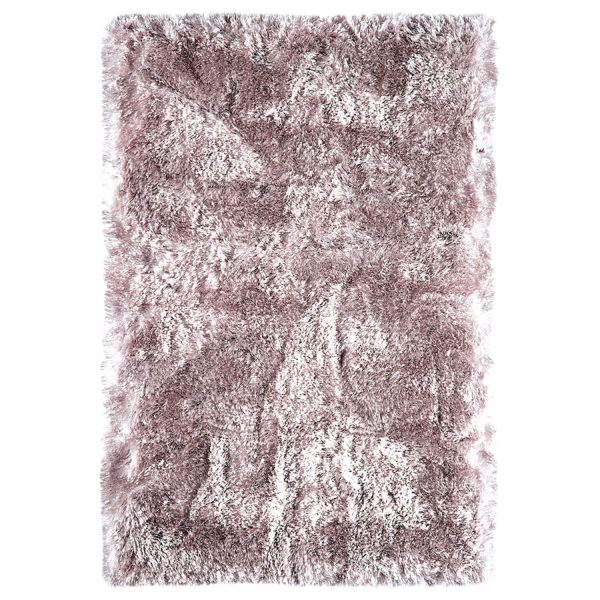 Asiatic Plush Shaggy Rug, 140 x 200cm - Dusk