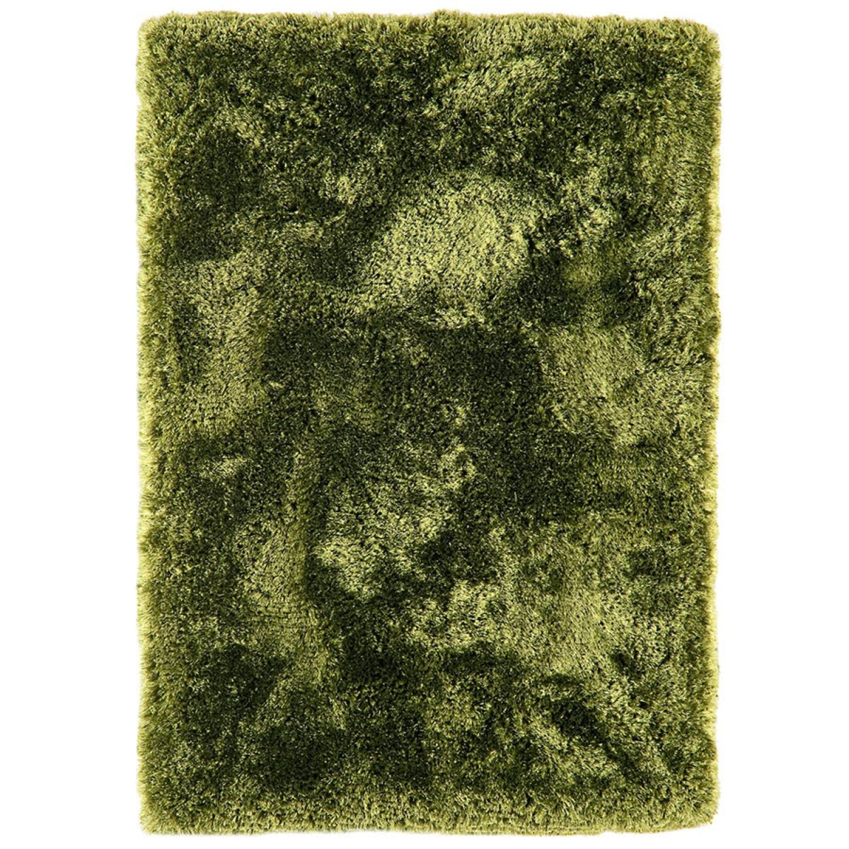 Asiatic Plush Shaggy Rug, 140 x 200cm - Green