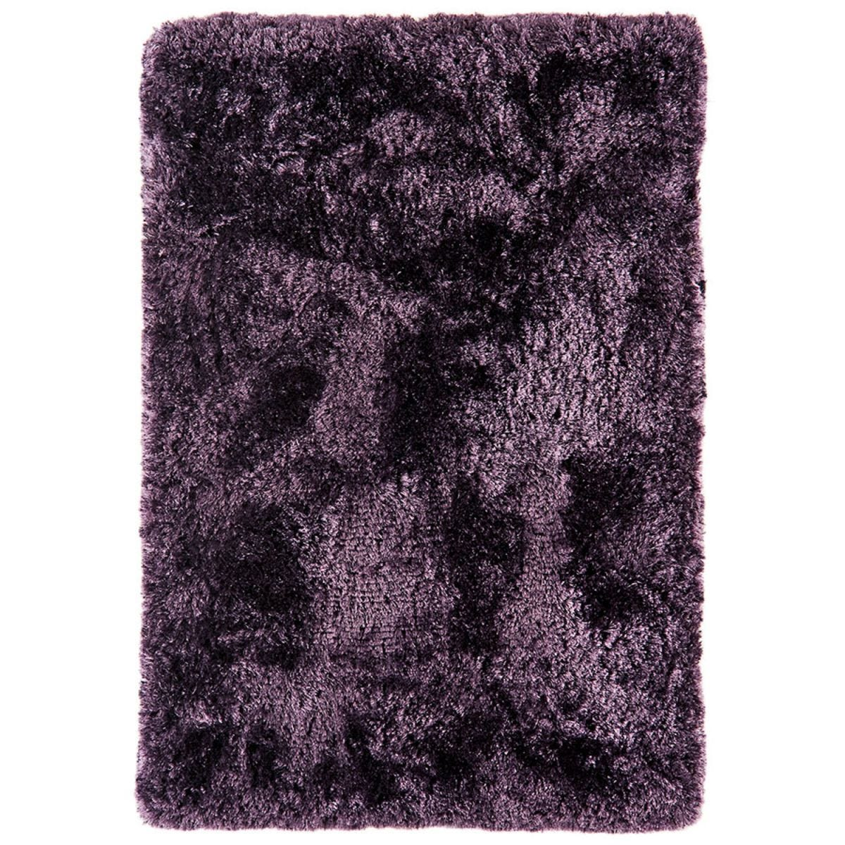 Asiatic Plush Shaggy Rug, 140 x 200cm - Purple