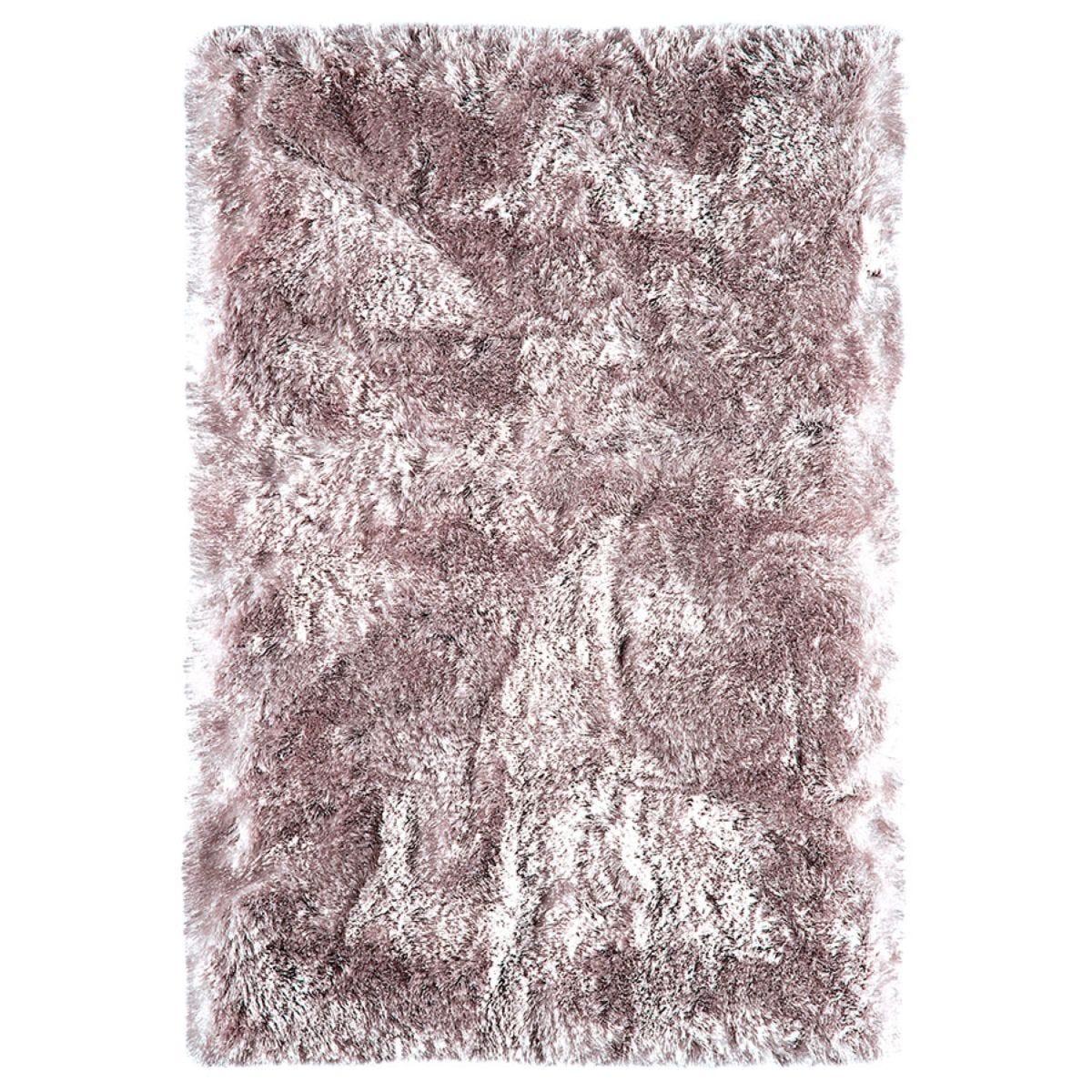 Asiatic Plush Shaggy Rug, 70 x 140cm - Dusk