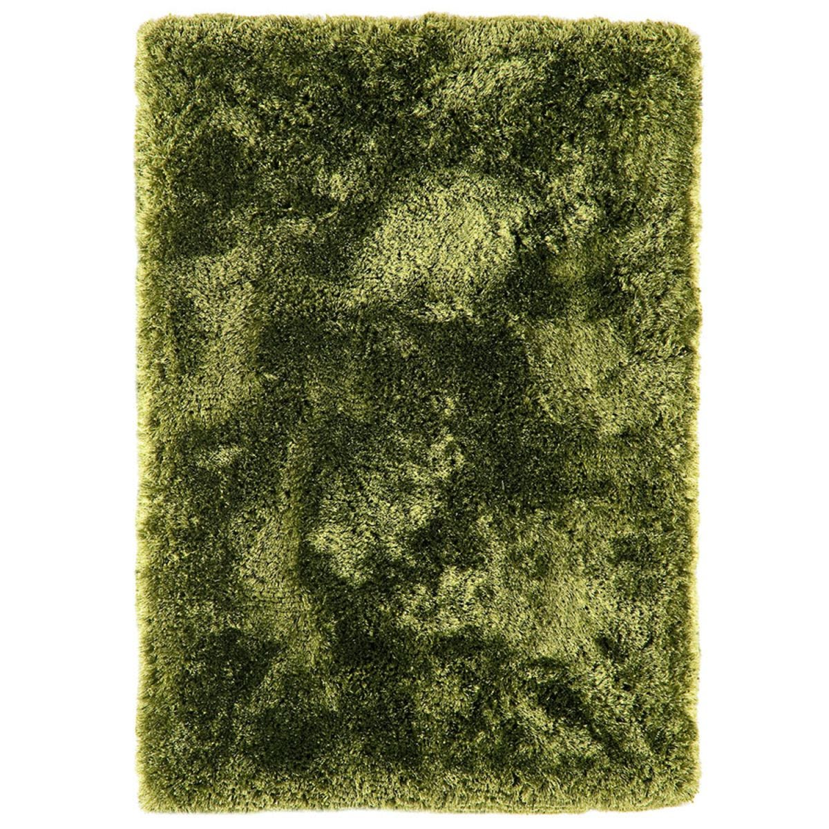 Asiatic Plush Shaggy Rug, 70 x 140cm - Green
