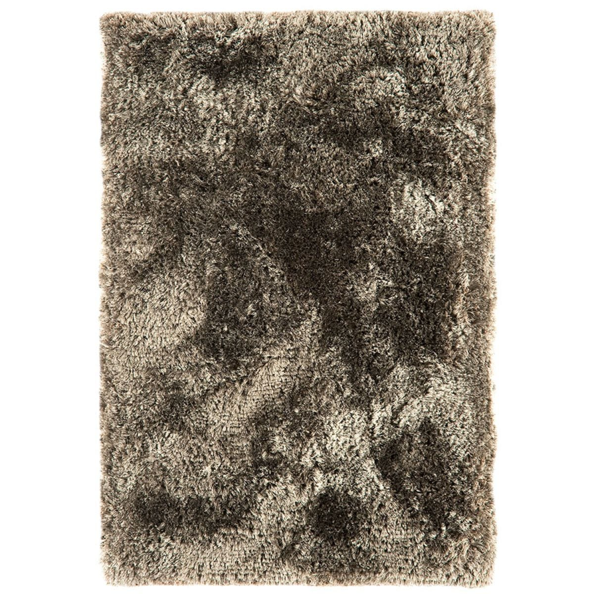 Asiatic Plush Shaggy Rug, 70 x 140cm - Taupe