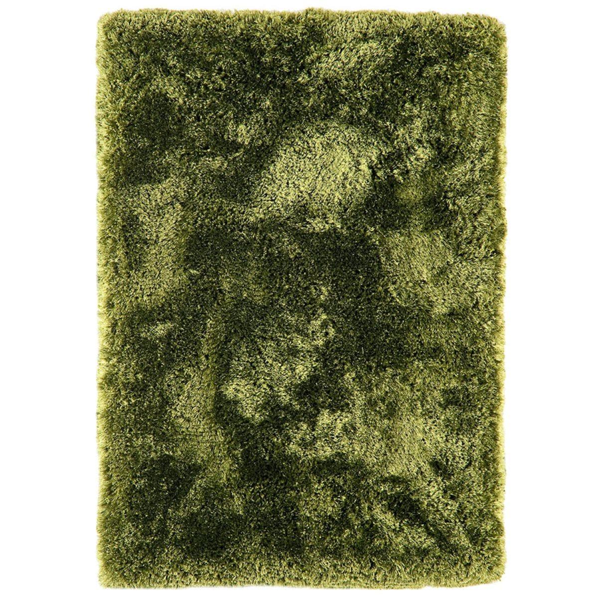 Asiatic Plush Shaggy Rug, 120 x 170cm - Green