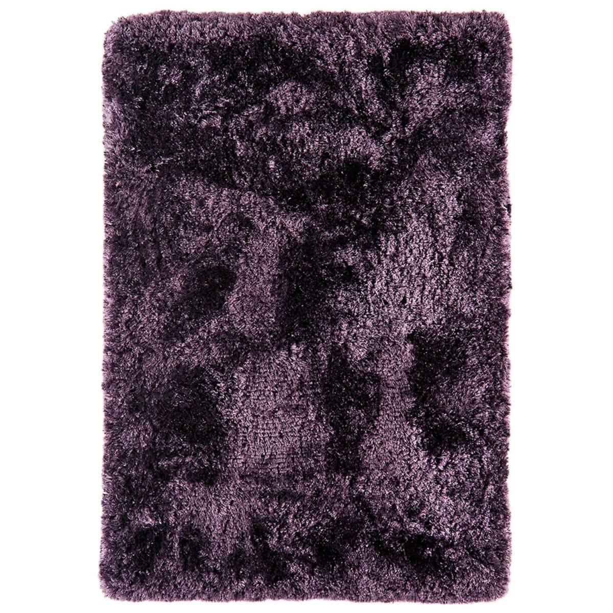 Asiatic Plush Shaggy Rug, 120 x 170cm - Purple