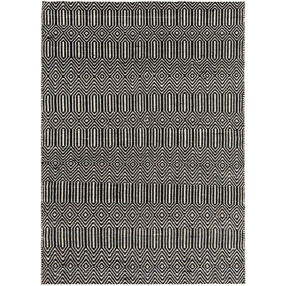 Asiatic Sloan Rug, 100 x 150cm - Black