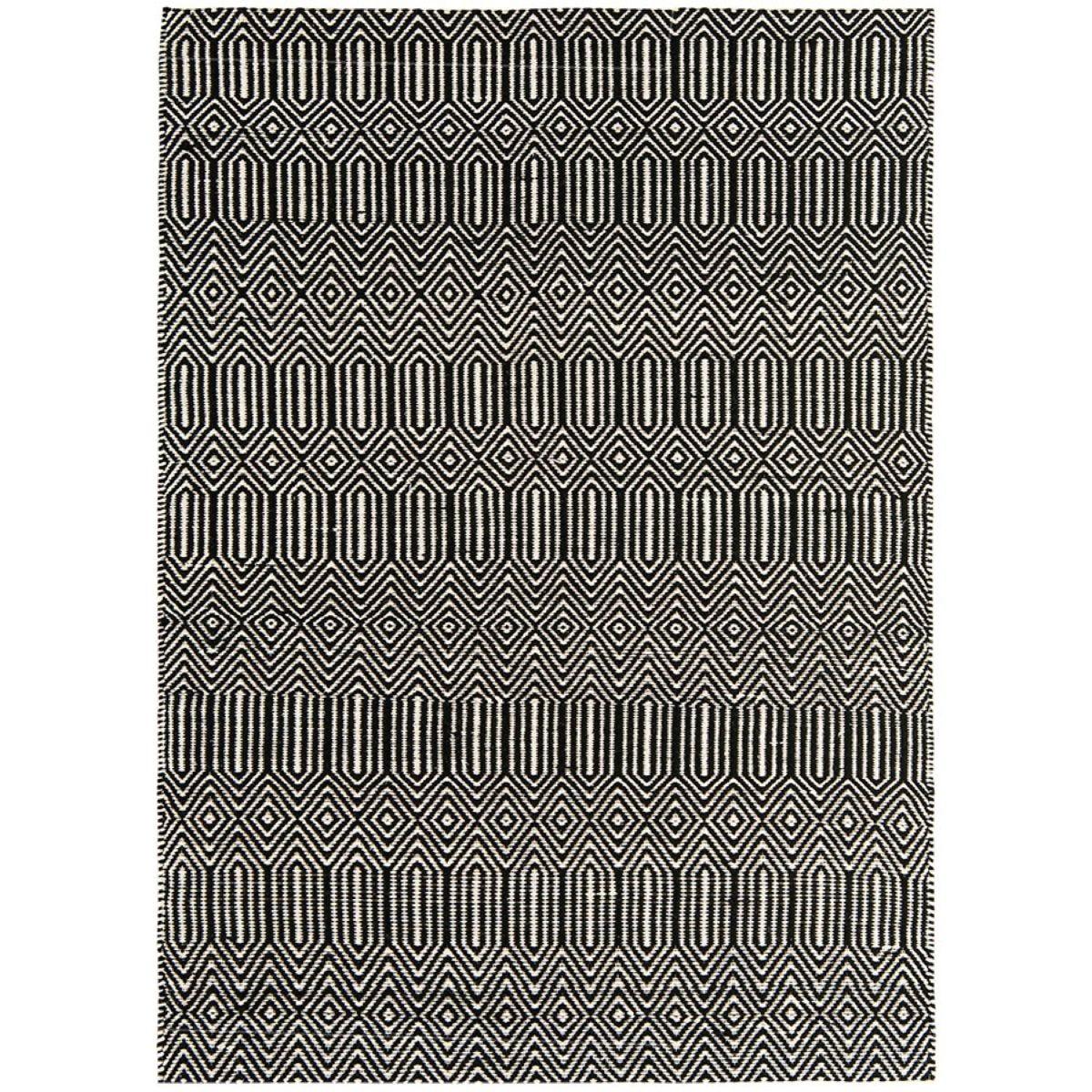Asiatic Sloan Rug, 66 x 200cm - Black