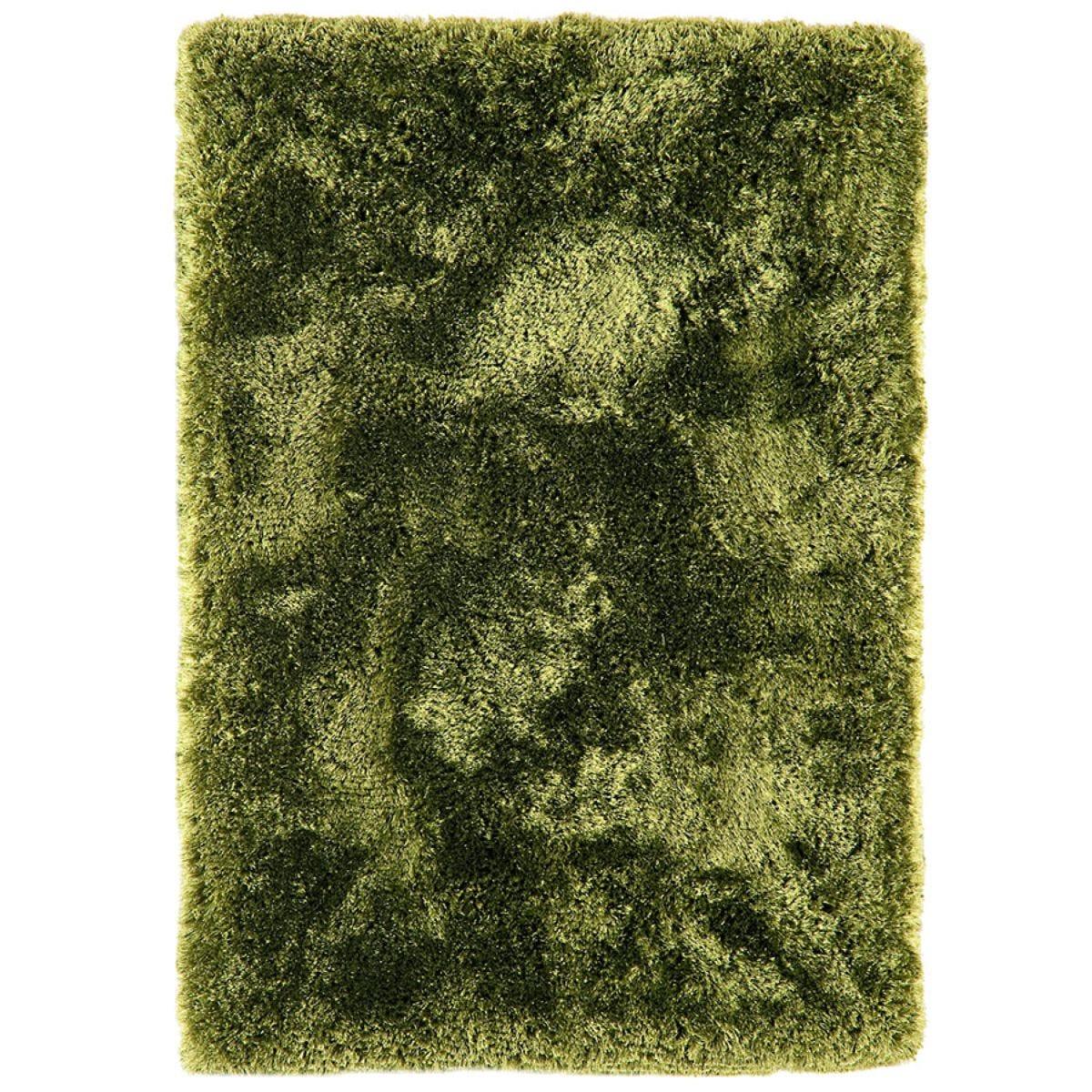 Asiatic Plush Shaggy Rug, 200 x 300cm - Green