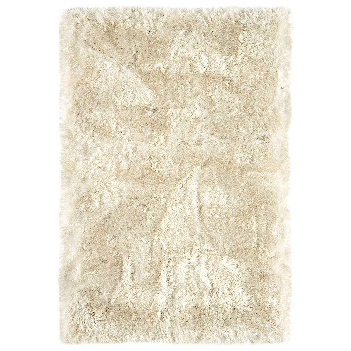 Asiatic Plush Shaggy Rug, 200 x 300cm - Pearl