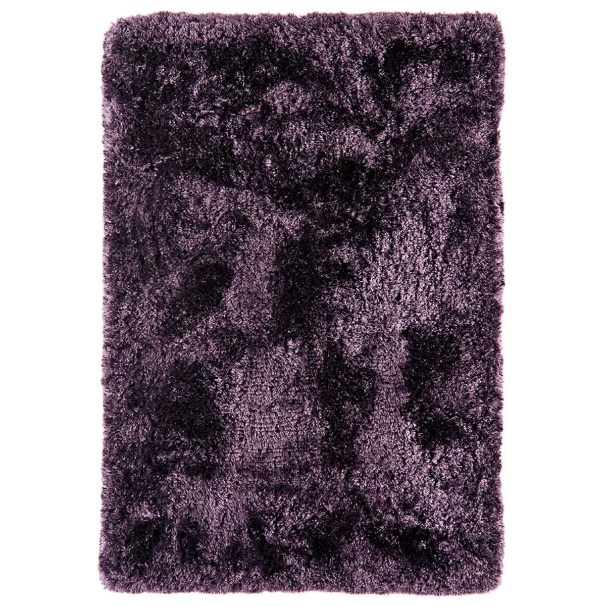 Asiatic Plush Shaggy Rug, 200 x 300cm - Purple