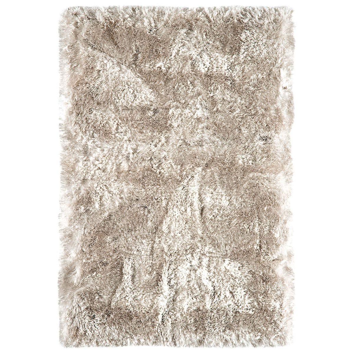 Asiatic Plush Shaggy Rug, 200 x 300cm - Sand