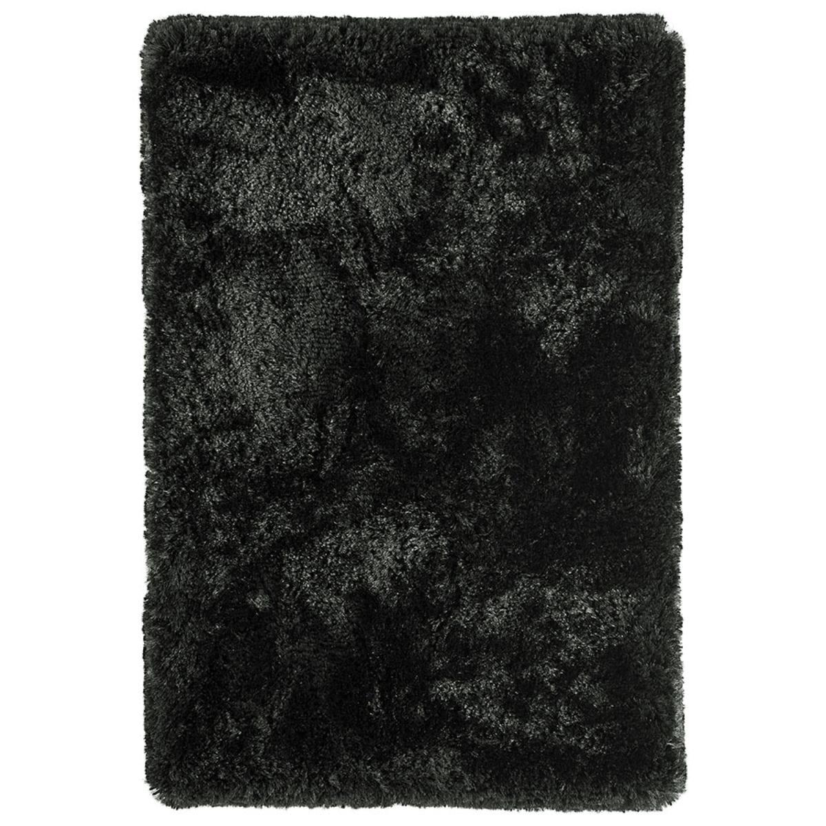 Asiatic Plush Rug, 160 x 230cm - Black