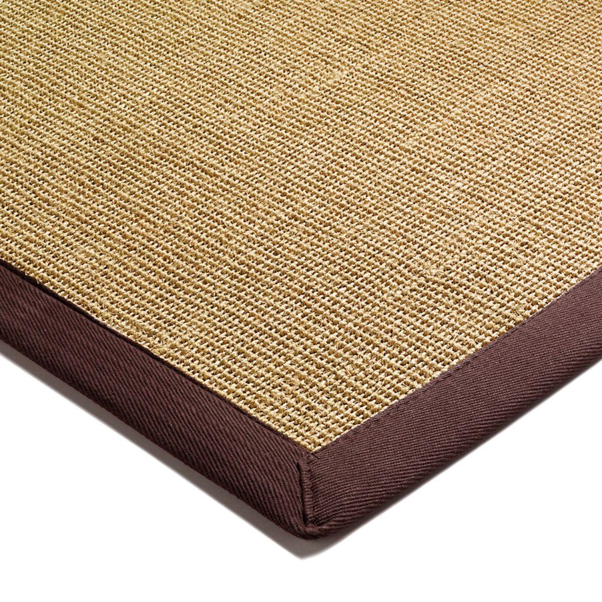 Asiatic Sisal Rug 180 x 120cm - Chocolate
