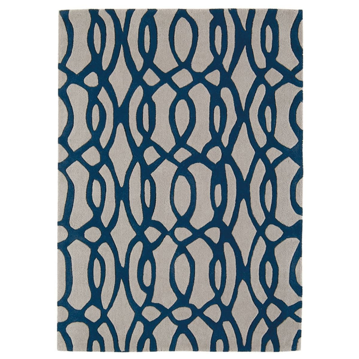 Asiatic Matrix Rug, 200 x 300cm - Blue