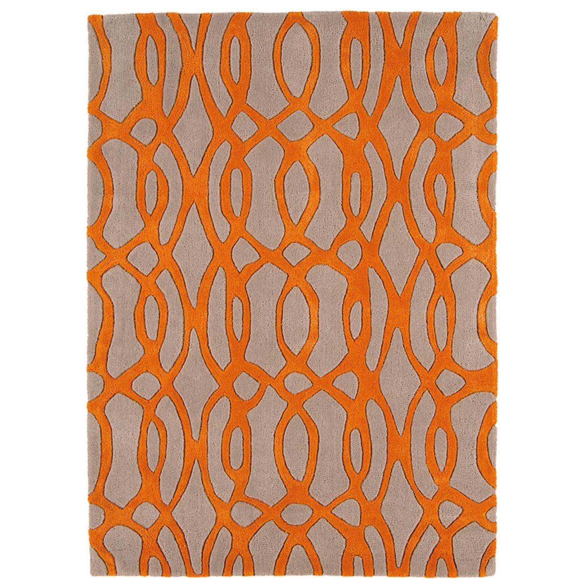 Asiatic Matrix Runner, 240 x 70cm - Orange