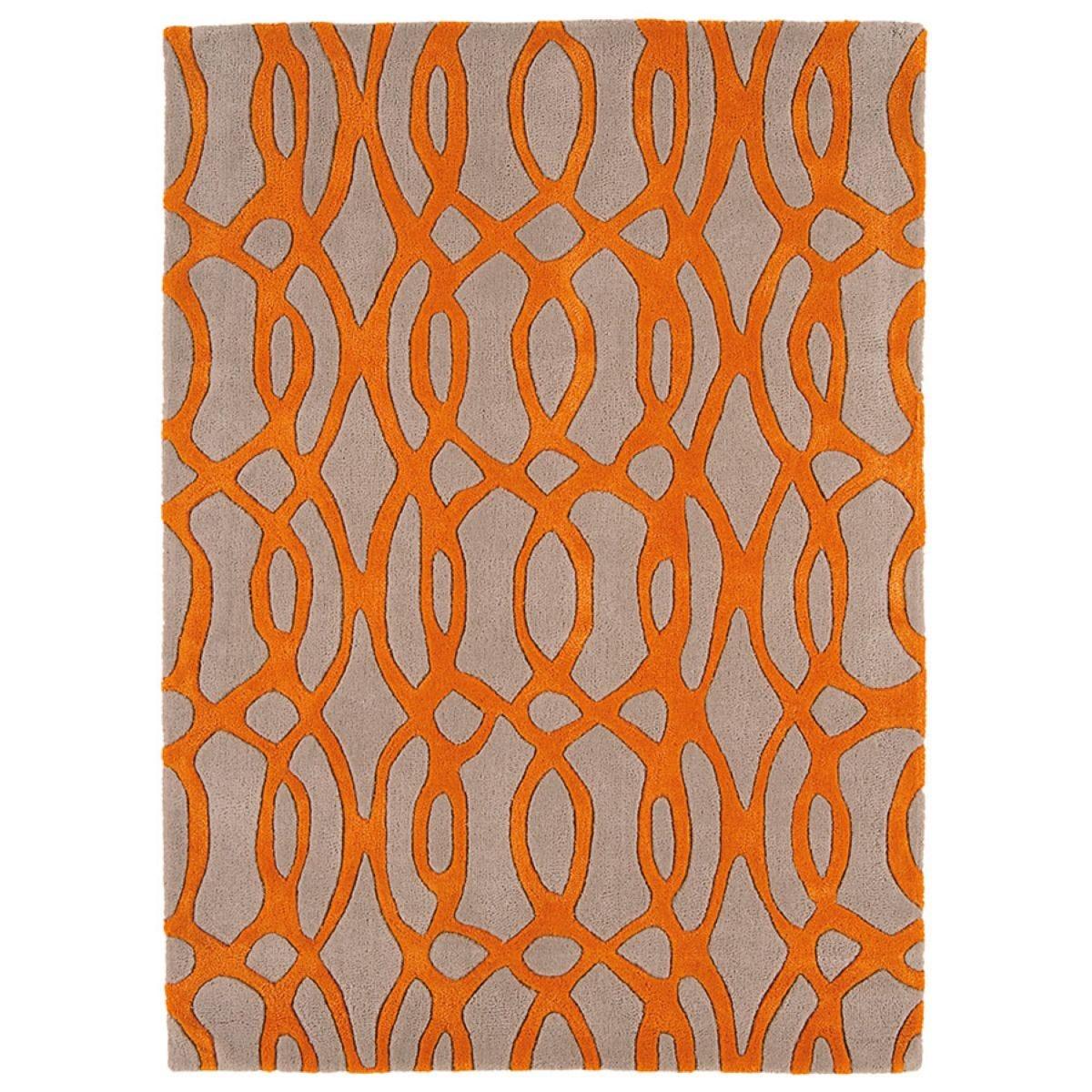 Asiatic Matrix Rug, 160 x 230cm - Orange