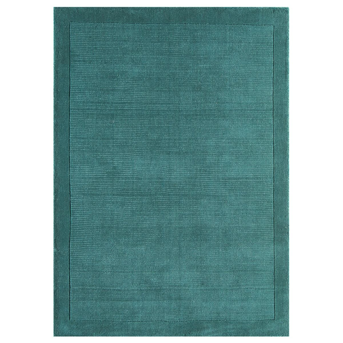 Asiatic Extra Large York Handloom Rug - Teal