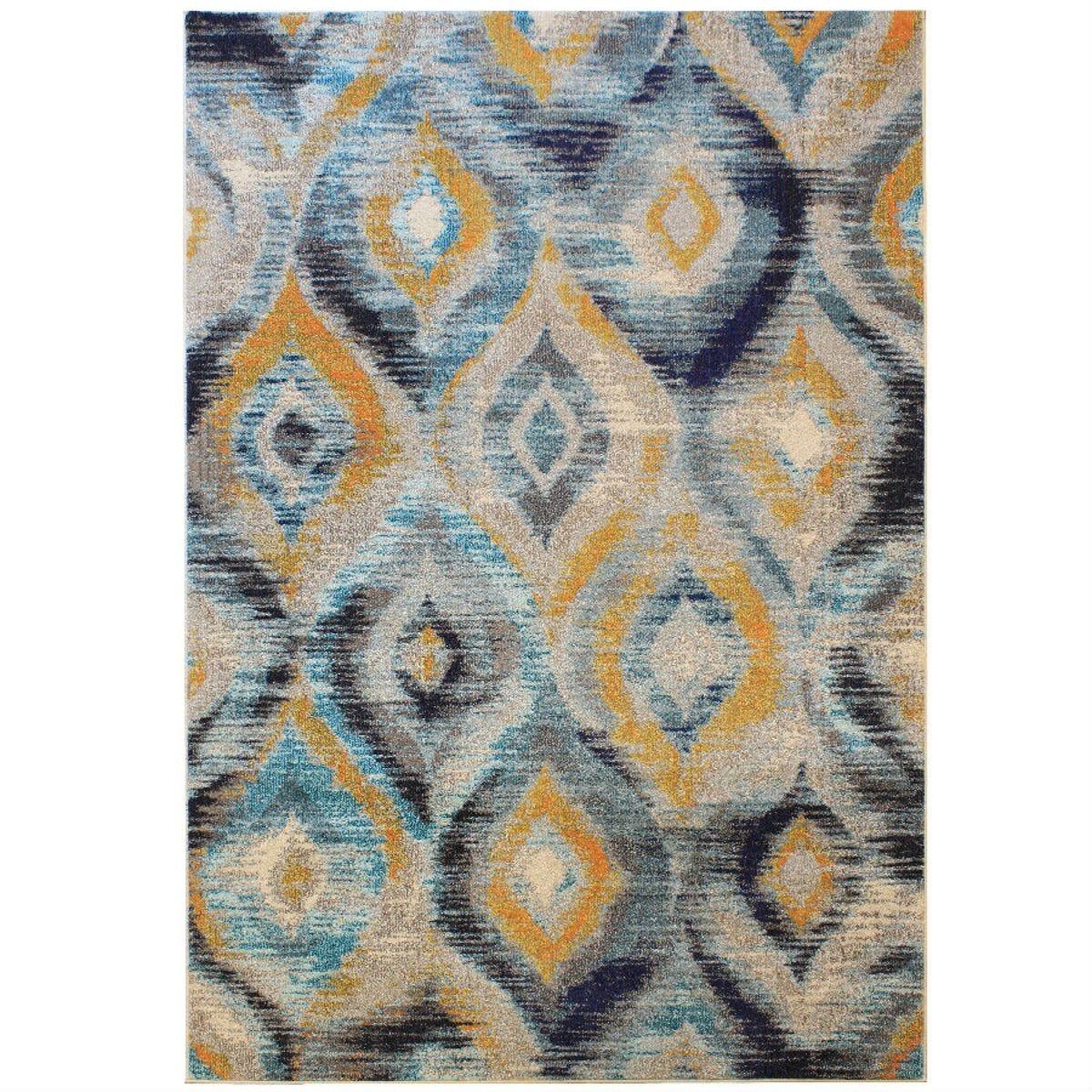 Asiatic Colores Rug, 160 x 230cm - Ikat Blue