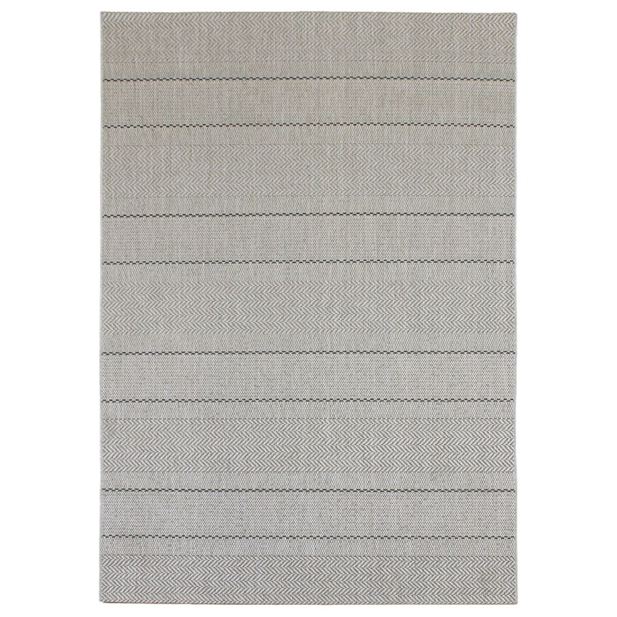 Asiatic Patio Rug, 200 x 290cm - Beige Stripes