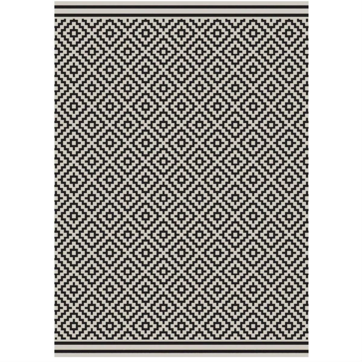 Asiatic Patio Rug, 200 x 290cm - Black