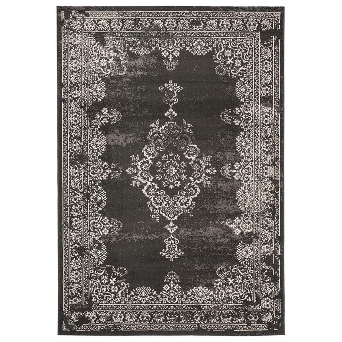 Asiatic Revive Rug, 120 x 170cm - Black