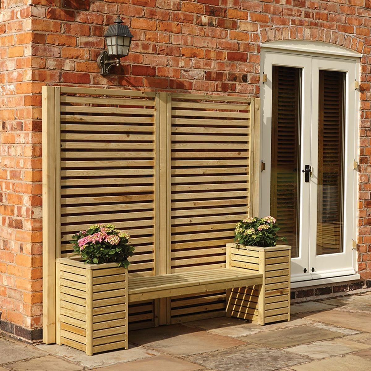 Rowlinson Garden Creations Seat Set