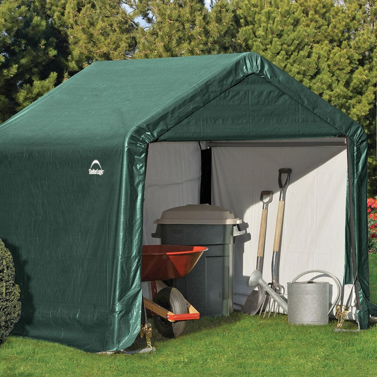 Shelterlogic 6ftx6ft Shed In A Box Robert Dyas