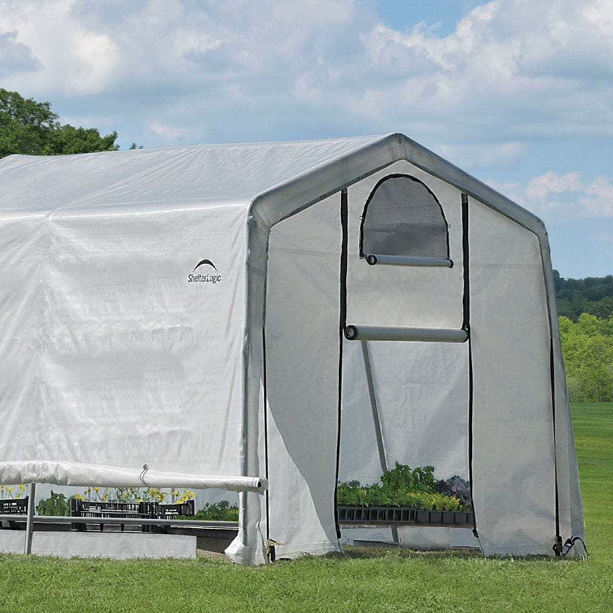 ShelterLogic 10ftx10ft Greenhouse in a Box