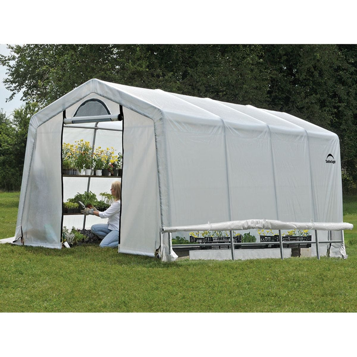 ShelterLogic 10ftx20ft Greenhouse in a Box
