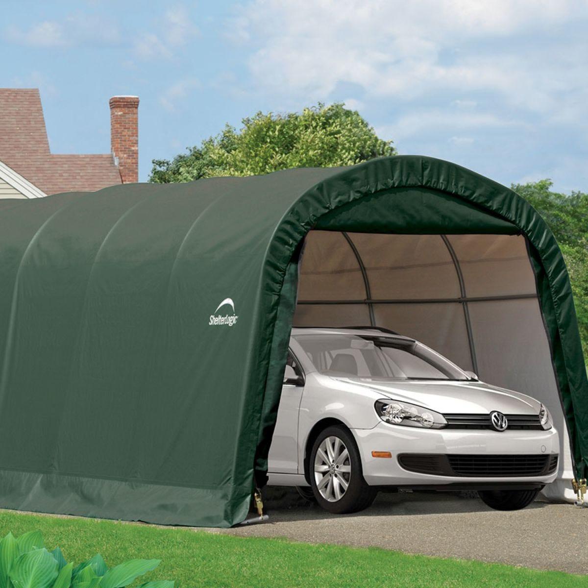 ShelterLogic 10ftx20ft Round Top Auto Shelter