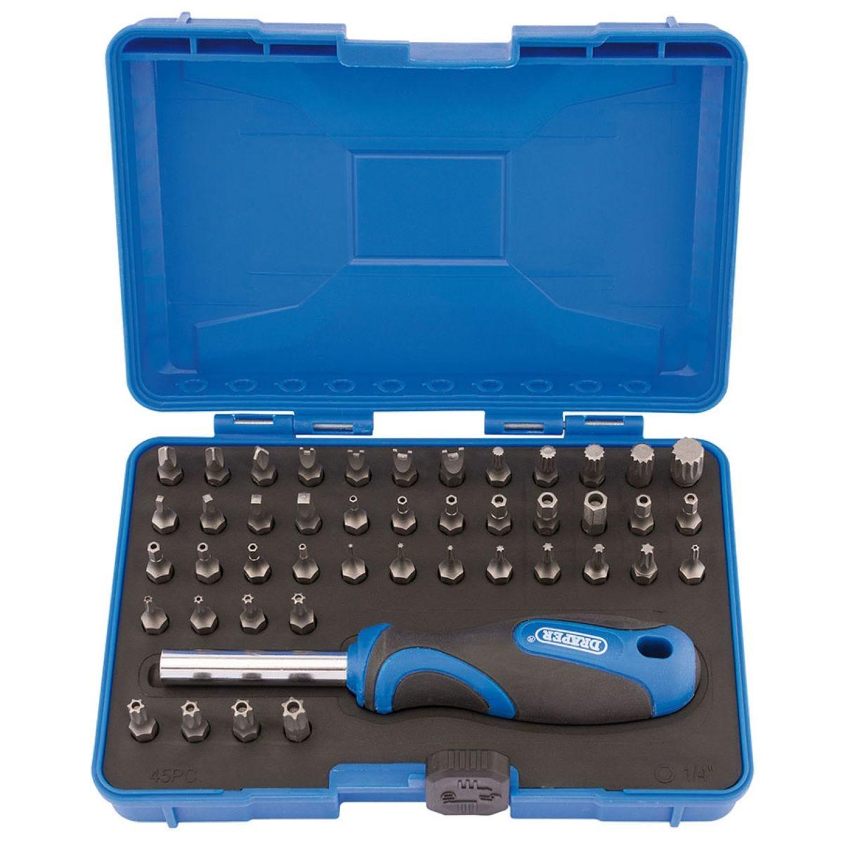 Draper 45-Piece Security Screwdriver Set