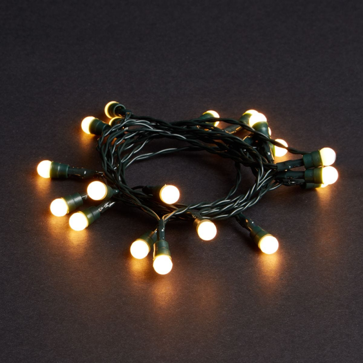 Robert Dyas Battery Operated 20 LED Berry Lights - Warm White
