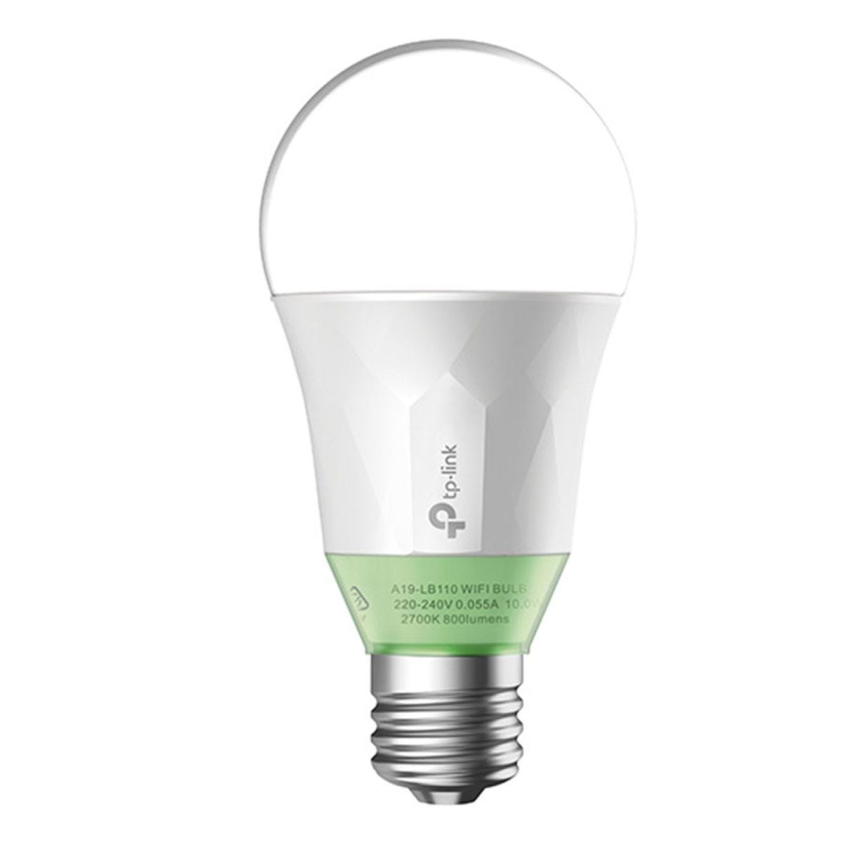 TP-Link LB110 Smart Wi-Fi Dimmable E27 LED Bulb - White