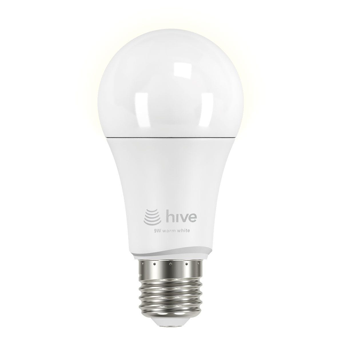 Hive Active Light E27 9W LED Dimmable Bulb - Warm White