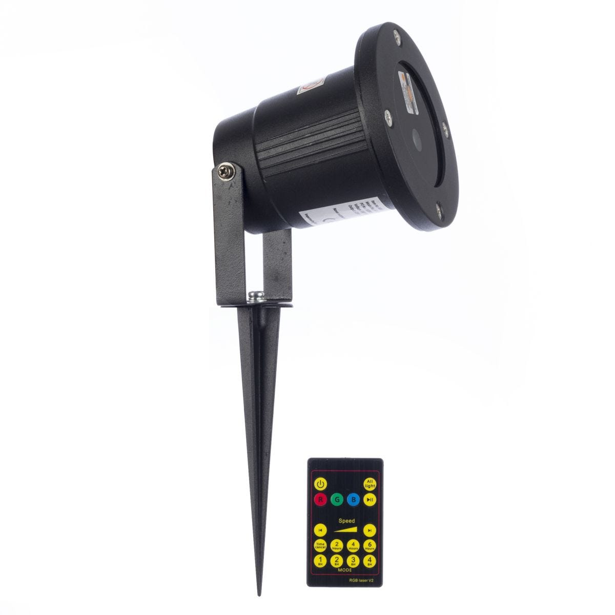 Christmas Workshop Deluxe Outdoor Laser Projector Light with Remote Control