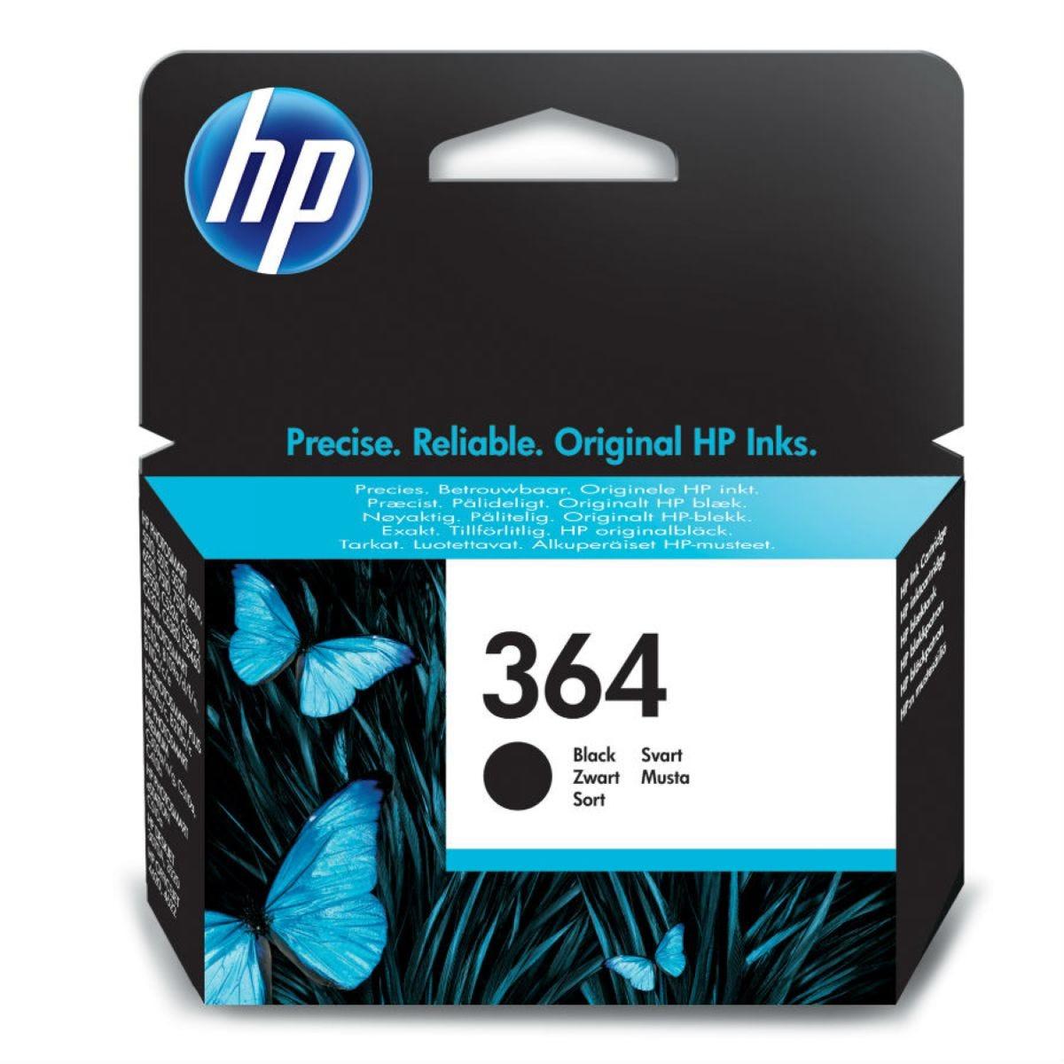 HP Hewlett-Packard 364 InkJet Cartridge - Black