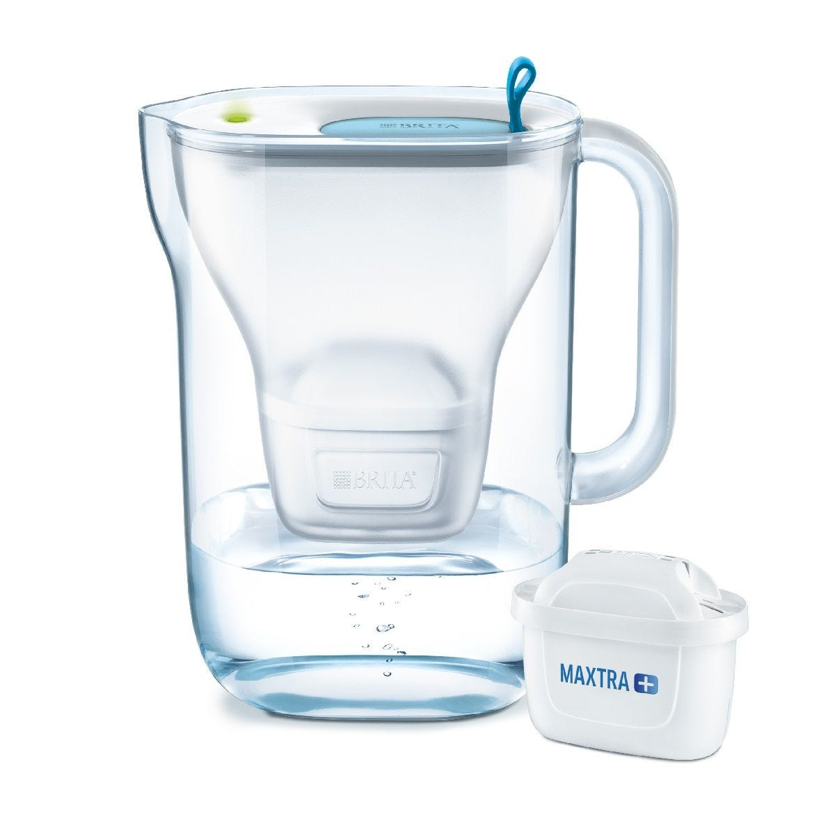 Brita Style Cool Maxtra+ Water Filter 2.4L Jug with Smart Light Indicator - Blue