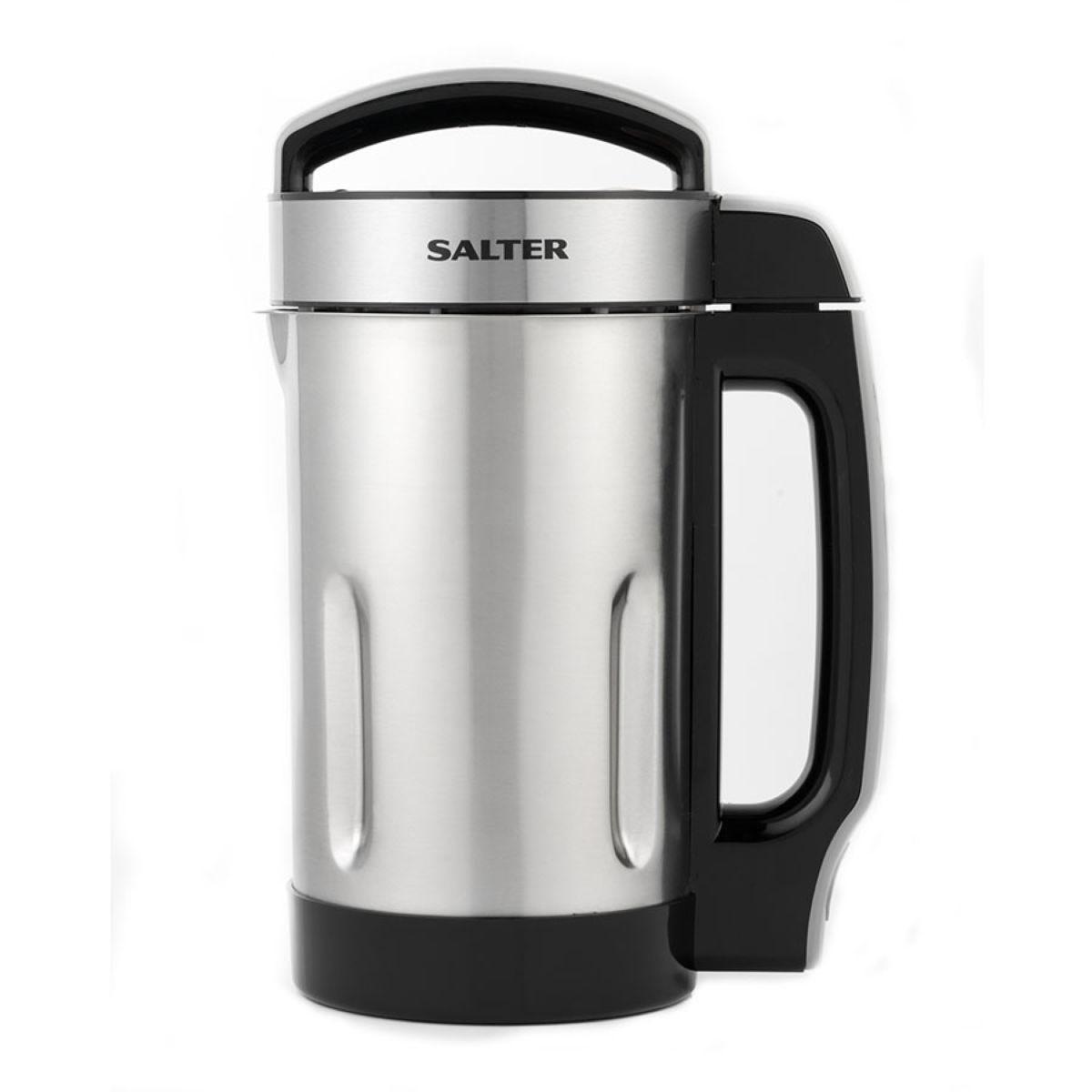 Salter 1.6L Electric Soup Maker Jug - Stainless Steel